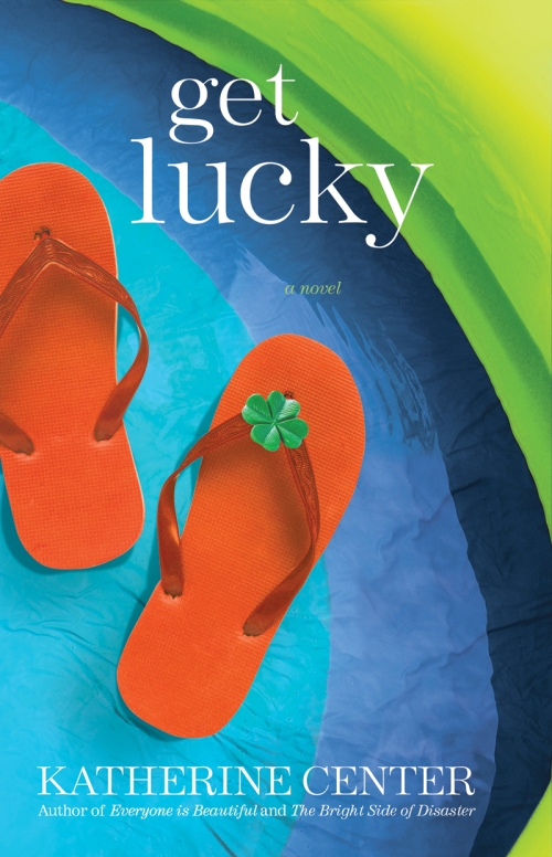 GET LUCKY AUTHOR WHITE